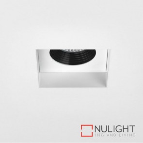 Trimless Square Fire-Rated LED Matt White 5703 AST