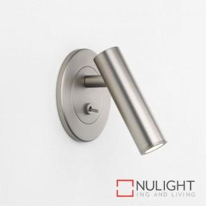 Enna Recess Switched LED Matt Nickel 8040 AST