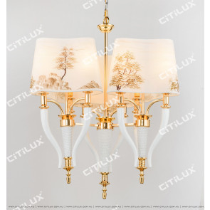 Landscape Chinese New Chinese Chandelier Citilux