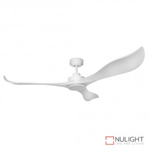Avatar 56 Inches Abs Blades Dc Ceiling Fan Satin White Finish DOM