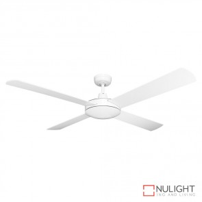 Brisk 52 Inches Plywood Blade Ceiling Fan White Finish DOM