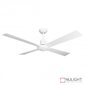 Windy 48 Inches Plywood Blade Ceiling Fan White Finish DOM