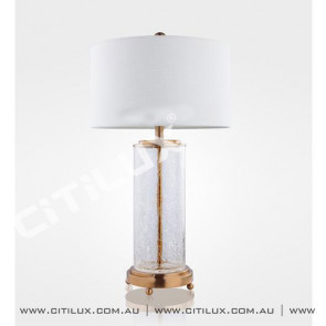 Crack Glass Table Lamp Citilux