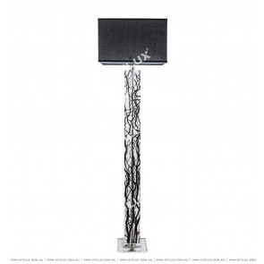 Transparent Crystal Tree Floor Lamp Citilux