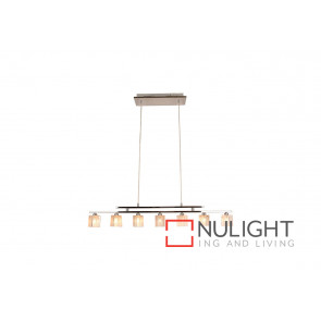 Cubo 7 Light Crystal Pendant VAM