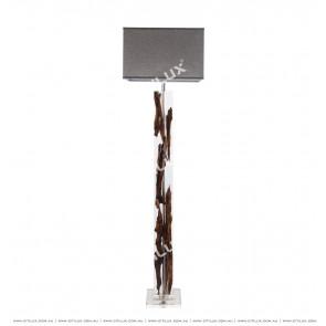 Modern Transparent Crystal Floor Lamp Citilux