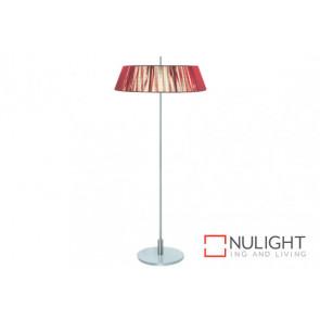Paolo 2 Light Floor Lamp Red VAM