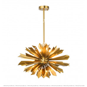 Stainless Steel Spheroidal Chandelier Citilux