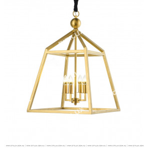 American Industrial Wind Metal Chandelier Citilux