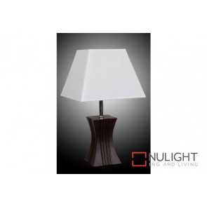 KENJI Table Lamp White Shade VAM