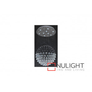 Mondo Clear 16 LT 1040mm Chrome Ceiling Light VAM