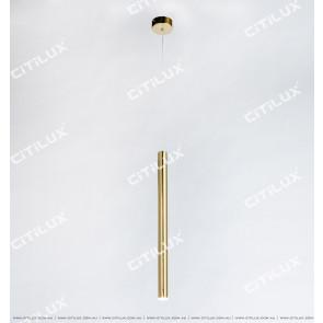 Metal Texture Single Head Bar Chandelier Citilux