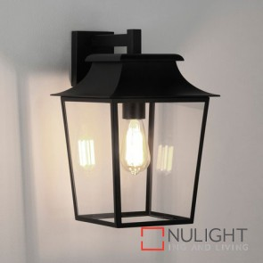Richmond Wall Lantern 254 Textured Black 8050 AST