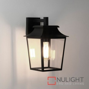 Richmond Wall Lantern 200 Textured Black 7966 AST