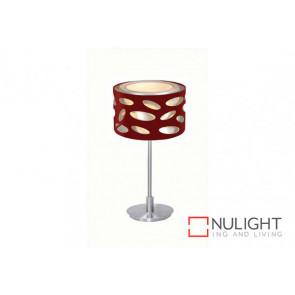 Carlo Red Table Lamp VAM