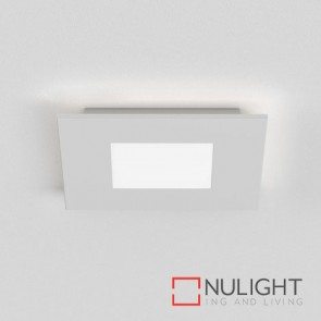 Zero Square LED Matt White 7419 AST