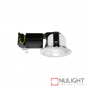 Jupiter 4 Cfl Downlight Small Brushed Chrome BRI