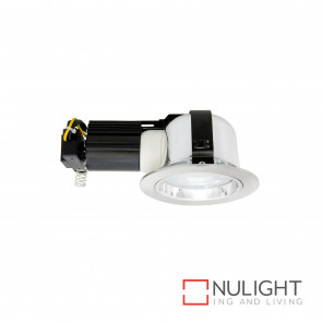 Jupiter 5 Cfl Downlight Large Brushed Chrome BRI