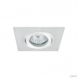 Lumina Square Adjustable Downlight Brushed Aluminium BRI