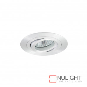 Lumina Round Adjustable Downlight Brushed Aluminium BRI