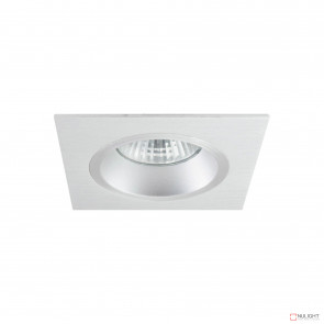 Lumina Square Recessed Downlight Brushed Aluminium BRI