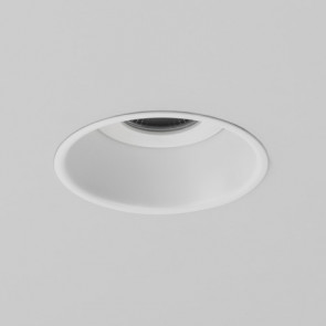Minima Round IP65 Fire-Rated LED Matt White 1249023 Astro