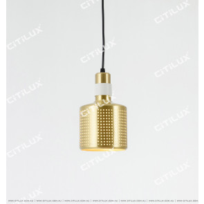 Platinum Hollow Modern Single Head Chandelier Citilux