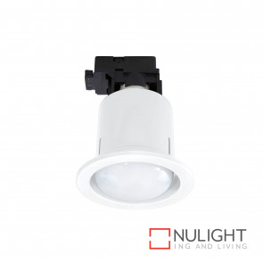 Uni 5 Round Cfl Downlight Inc 15W R80 Cfl Globe - White BRI