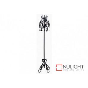 VENICE 3 light Floor Lamp BK VAM