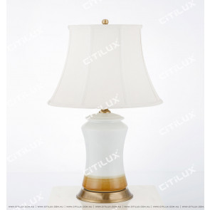 Simple Chinese Ceramic Table Lamp Citilux