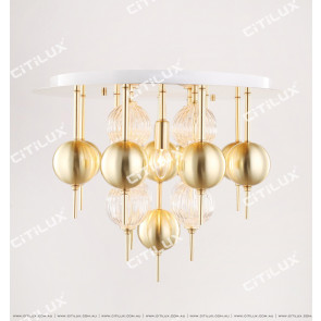 Modern Minimalist Spherical Small Ceiling Lamp Citilux
