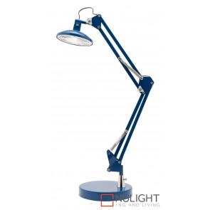 Dalton LED Desk Lamp Blue MEC