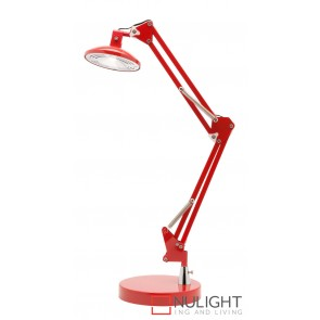 Dalton LED Desk Lamp Red MEC