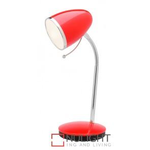 Sara Table Lamp Red MEC