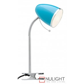 Sara Clamp Lamp Blue MEC