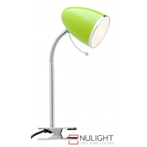 Sara Clamp Lamp Green MEC