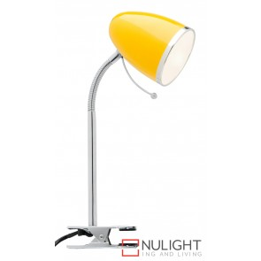 Sara Clamp Lamp Yellow MEC