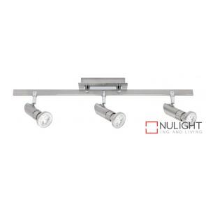 Pronto 3 Light LED Spotlight Bar Brushed Chrome MEC