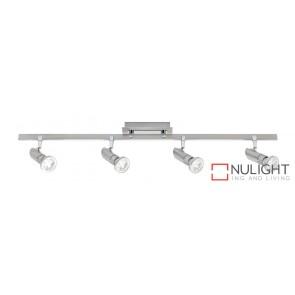 Pronto 4 Light LED Spotlight Bar Brushed Chrome MEC