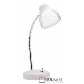 Davis  Table Lamp White MEC
