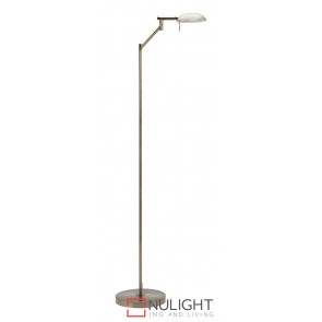 Max Floor Lamp Antique Brass MEC