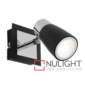 Alecia 1 Light Spotlight Black MEC