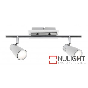 Alecia 2 Light Spotlight White MEC