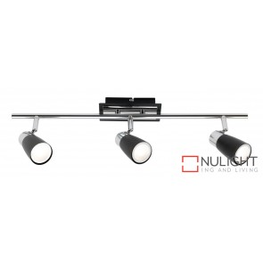 Alecia 3 Light Spotlight Black MEC