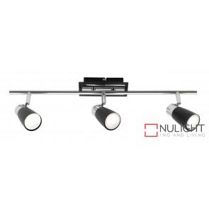 Alecia 3 Light Spotlight Black MEC