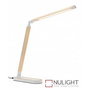 Republic Led Task Lamp Gold MEC