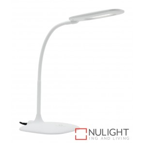 Bryce Led Task Lamp White MEC