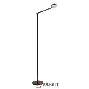 Axel LED Floor Lamp Black MEC