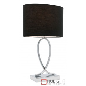 Campbell Small Touch Lamp Black MEC