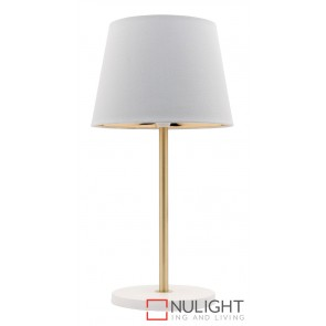 Kendall Table Lamp Antique Brass MEC